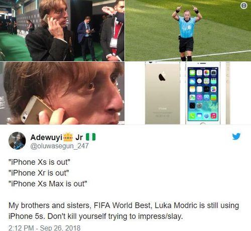 Lương 275 tỷ/năm, Luka Modric vẫn dùng iPhone 5S khiến nhiều người bất ngờ - Ảnh 2