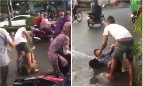 Người đàn ông bị đánh vì bạo hành phụ nữ giữa đường ở Đồng Nai - Ảnh 2