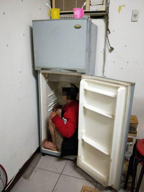 Cảnh sát Đài Loan tìm thấy lao động Việt nấp trong tủ lạnh - Ảnh 1