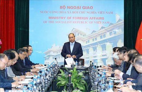 Thủ tướng làm việc với Bộ Ngoại giao về Hội nghị Thượng đỉnh Mỹ - Triều Tiên - Ảnh 3