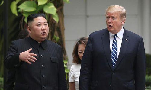 Hình ảnh ghi dấu ấn của Tổng thống Trump và Chủ tịch Kim Jong-un tại Hà Nội - Ảnh 5