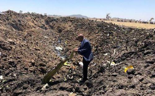 Máy bay rơi ở Ethiopia, 157 người chết: Nhân chứng kể lại giây phút kinh hoàng - Ảnh 1