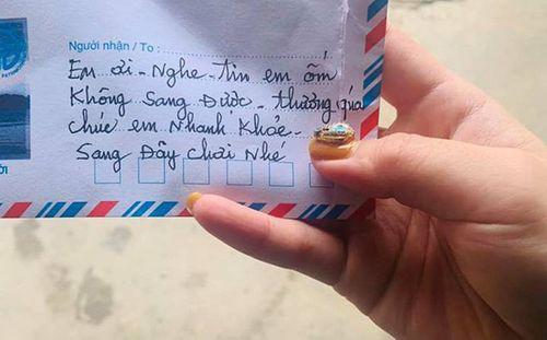 """Chiếc phong bì đáng yêu của cụ bà U90 gửi bạn thân khiến dân mạng """"ngả mũ thán phục"""" - Ảnh 1"""