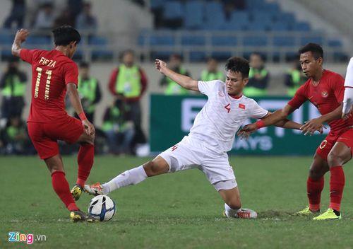 U23 Việt Nam 1- 0 Indonesia: Đội chủ nhà chiến thắng nhọc nhằn - Ảnh 3
