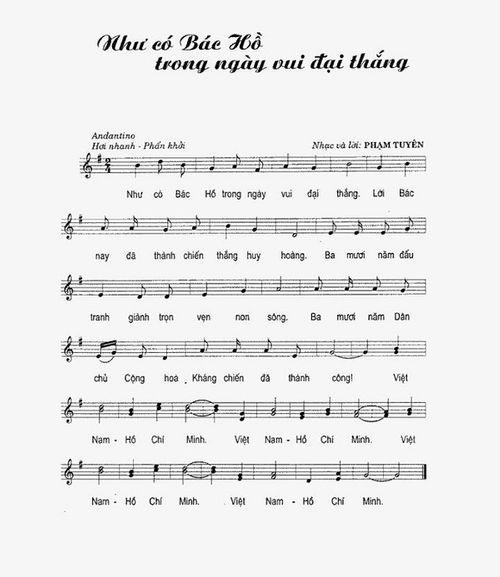 Nhạc sĩ Phạm Tuyên sáng tác Như có Bác Hồ trong ngày vui đại thắng trong 2 giờ - Ảnh 2