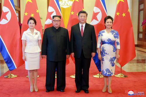 Triều Tiên công bố hình ảnh chuyến thăm Trung Quốc lần 3 của ông Kim Jong-un - Ảnh 3
