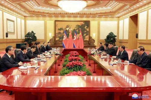 Triều Tiên công bố hình ảnh chuyến thăm Trung Quốc lần 3 của ông Kim Jong-un - Ảnh 6