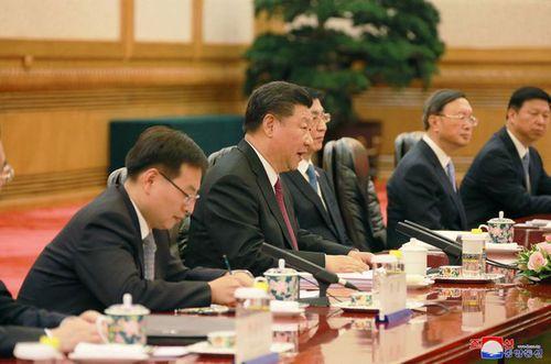 Triều Tiên công bố hình ảnh chuyến thăm Trung Quốc lần 3 của ông Kim Jong-un - Ảnh 8