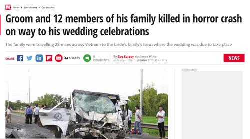 Nhiều báo nước ngoài đưa tin về tai nạn thảm khốc ở Quảng Nam khiến 13 người thiệt mạng - Ảnh 1