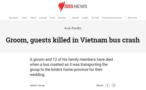 Nhiều báo nước ngoài đưa tin về tai nạn thảm khốc ở Quảng Nam khiến 13 người thiệt mạng - Ảnh 4