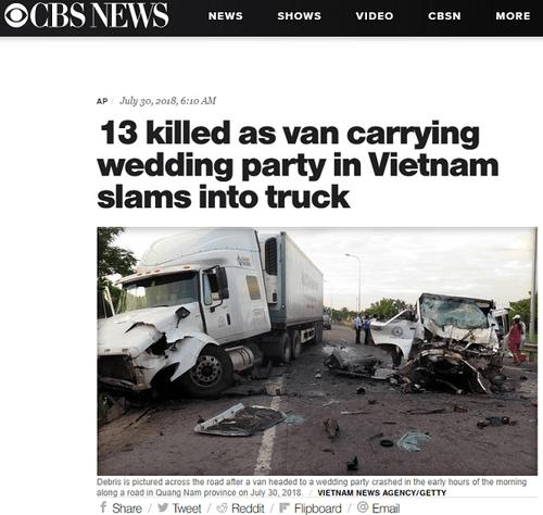 Nhiều báo nước ngoài đưa tin về tai nạn thảm khốc ở Quảng Nam khiến 13 người thiệt mạng - Ảnh 6