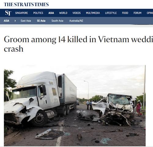 Nhiều báo nước ngoài đưa tin về tai nạn thảm khốc ở Quảng Nam khiến 13 người thiệt mạng - Ảnh 7