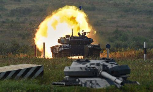 Những khoảnh khắc ấn tượng trong giải đấu xe tăng quốc tế tại Nga - Ảnh 1