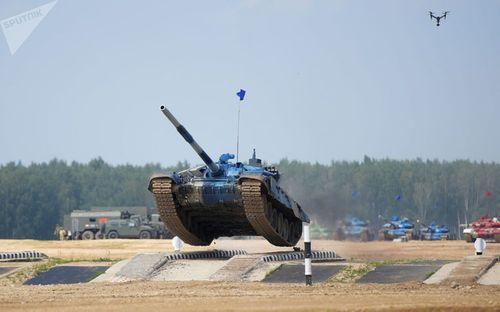 Những khoảnh khắc ấn tượng trong giải đấu xe tăng quốc tế tại Nga - Ảnh 8