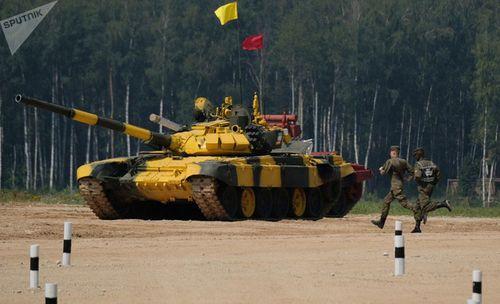 Những khoảnh khắc ấn tượng trong giải đấu xe tăng quốc tế tại Nga - Ảnh 9