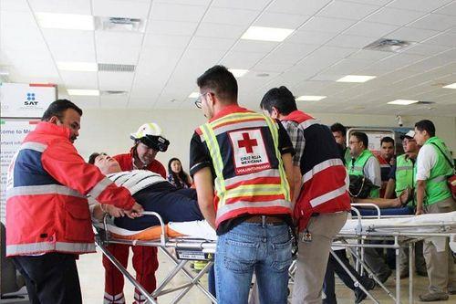 Hiện trường vụ máy bay chở 101 người rơi ở Mexico - Ảnh 9