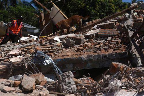 Động đất tại Indonesia: Cận cảnh siêu thị đổ sập trong chớp mắt - Ảnh 7