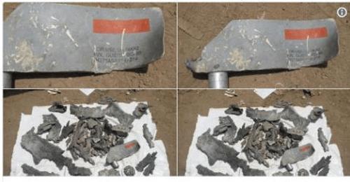 Phát hiện mảnh bom do Mỹ sản xuất tại hiện trường vụ không kích xe chở học sinh Yemen - Ảnh 1