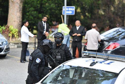 Nghi án Kim Jong-nam: Vòng vây an ninh được siết chặt tại phiên tòa tuyên án - Ảnh 5