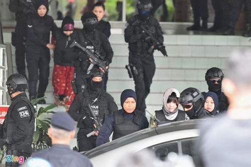 Nghi án Kim Jong-nam: Vòng vây an ninh được siết chặt tại phiên tòa tuyên án - Ảnh 9