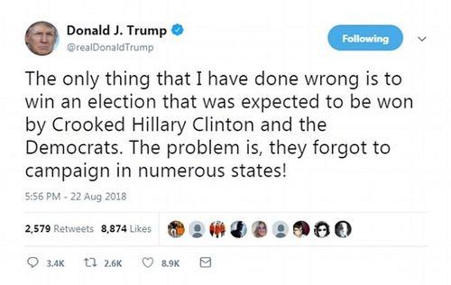 Tổng thống Donald Trump tiết lộ sai lầm duy nhất trong cuộc đời mình  - Ảnh 1