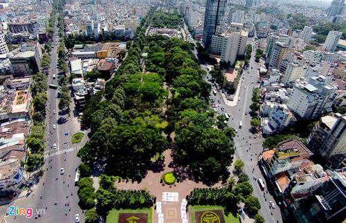 TP.HCM quyết chấm dứt cho thuê mặt bằng ở Công viên 23 Tháng 9 - Ảnh 1