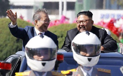 5 điểm nổi bật trong ngày đầu thượng đỉnh liên Triều ở Bình Nhưỡng - Ảnh 5