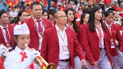 Toàn cảnh lễ vinh danh Đoàn thể thao Việt Nam vừa trở về từ ASIAD 2018 - Ảnh 1