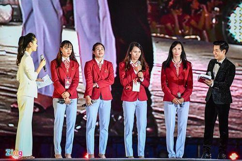 Toàn cảnh lễ vinh danh Đoàn thể thao Việt Nam vừa trở về từ ASIAD 2018 - Ảnh 3