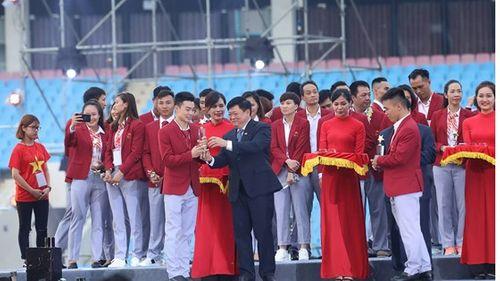 Toàn cảnh lễ vinh danh Đoàn thể thao Việt Nam vừa trở về từ ASIAD 2018 - Ảnh 6