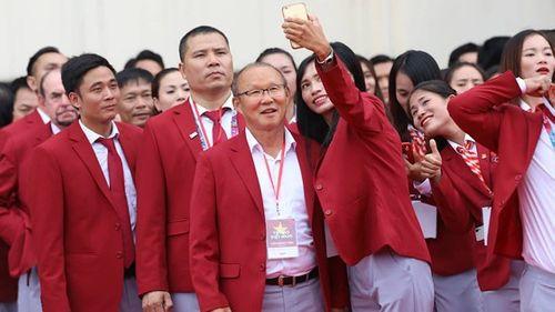 Toàn cảnh lễ vinh danh Đoàn thể thao Việt Nam vừa trở về từ ASIAD 2018 - Ảnh 8