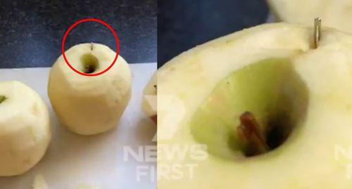 Bắt giữ nghi phạm đầu tiên trong vụ kim khâu bị gài vào hoa quả tươi tại Úc - Ảnh 2