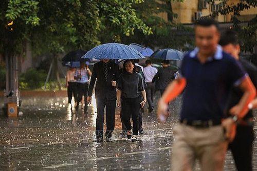 Người dân Hà Nội và các tỉnh đội mưa đến viếng Chủ tịch nước Trần Đại Quang - Ảnh 1