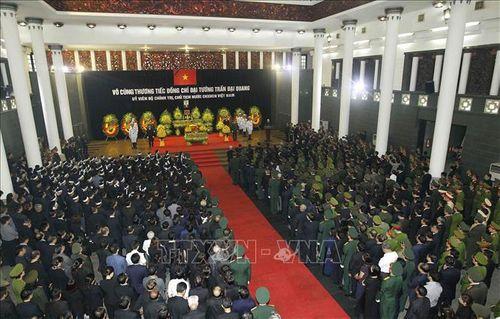 Lời cảm ơn của Ban Lễ tang và gia đình Chủ tịch nước Trần Đại Quang - Ảnh 1