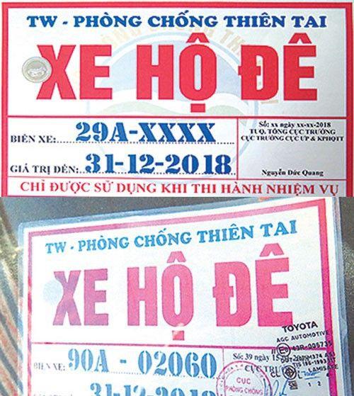 Yêu cầu cung cấp danh sách xe hộ đê cho tổng cục Đường bộ Việt Nam - Ảnh 1