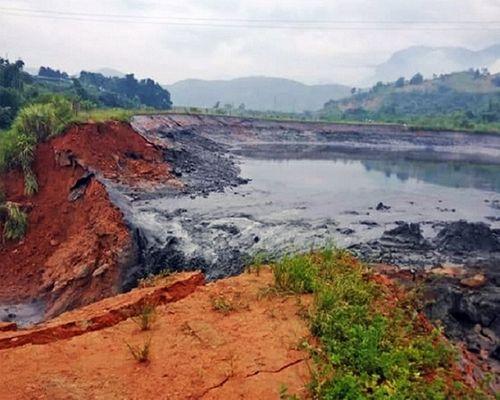 Hiện trường vụ vỡ hồ chứa chất thải tại Lào Cai, hàng chục hộ dân bị ảnh hưởng - Ảnh 3