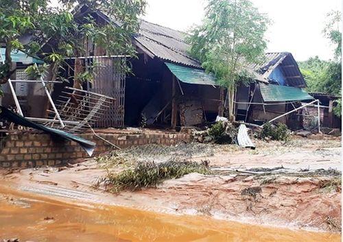 Hiện trường vụ vỡ hồ chứa chất thải tại Lào Cai, hàng chục hộ dân bị ảnh hưởng - Ảnh 5