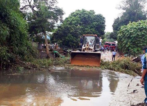 Hiện trường vụ vỡ hồ chứa chất thải tại Lào Cai, hàng chục hộ dân bị ảnh hưởng - Ảnh 6