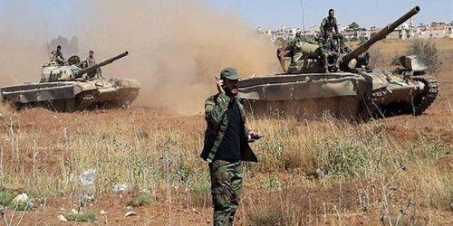 """Quân đội Syria ồ ạt nã hỏa lực, tiêu diệt phiến quân ở """"tử trận"""" Idlib - Ảnh 1"""
