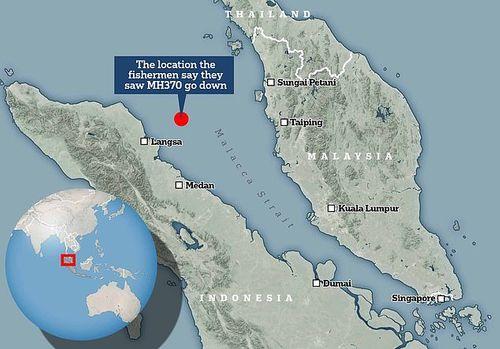 Thêm tin sốc về MH370: Ngư dân Indonesia tuyên bố tận mắt thấy máy bay lao xuống biển - Ảnh 2