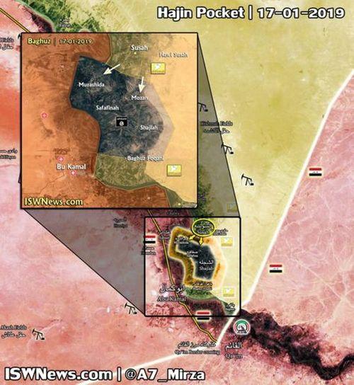Chiến sự Syria căng thẳng, IS co cụm trong 4 ngôi làng nhỏ  - Ảnh 1