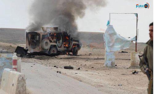 """Đánh bom liều chết nhằm vào đoàn xe quân sự Mỹ tại """"chảo lửa"""" Syria - Ảnh 1"""
