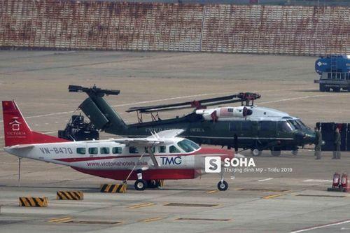 'Ngựa thồ' C-17 chở trực thăng của Tổng thống Mỹ hạ cánh tại sân bay Nội Bài - Ảnh 8
