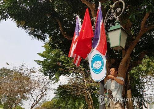 Báo chí quốc tế đưa tin không khí chào đón thượng đỉnh Mỹ - Triều tại Việt Nam - Ảnh 1