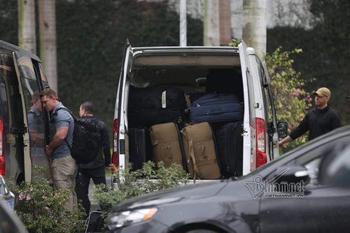 Đội mật vụ tinh nhuệ bảo vệ Tổng thống Trump đã có mặt tại Hà Nội - Ảnh 2