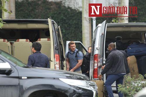 Đội mật vụ tinh nhuệ bảo vệ Tổng thống Trump đã có mặt tại Hà Nội - Ảnh 4