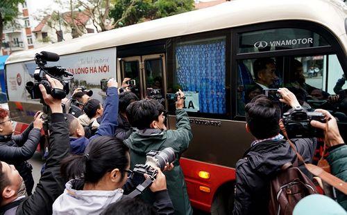 Cận cảnh phái đoàn an ninh của Triều Tiên với gần 100 người có mặt tại Hà Nội - Ảnh 10