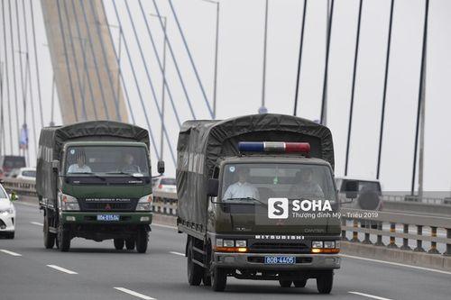 Cận cảnh phái đoàn an ninh của Triều Tiên với gần 100 người có mặt tại Hà Nội - Ảnh 11