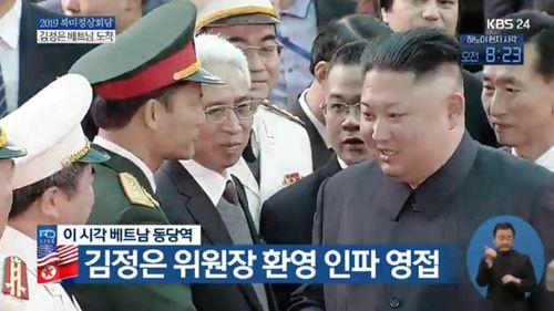 Cận cảnh Chủ tịch Kim Jong Un tươi cười rạng rỡ tại ga Đồng Đăng - Ảnh 5
