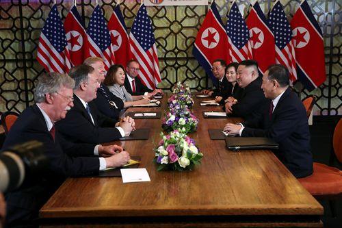 Hội nghị thượng đỉnh Mỹ-Triều ngày 2: Chưa phải thời điểm thích hợp để ra tuyên bố chung - Ảnh 6